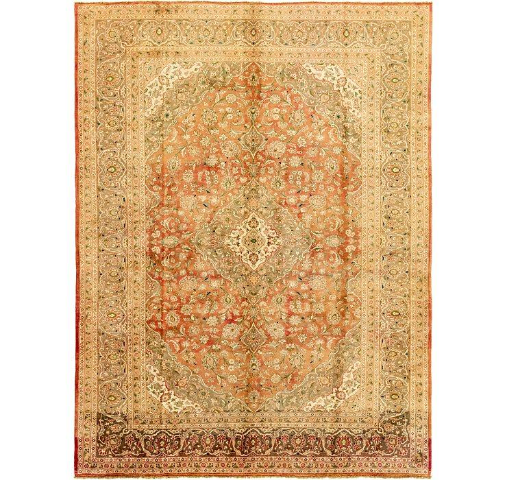 9' 9 x 13' Kashan Persian Rug