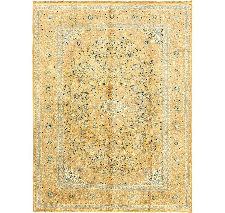 9' 9 x 12' 8 Kashan Persian Rug