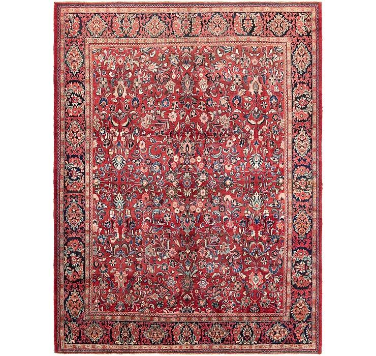 9' 5 x 12' 9 Meshkabad Persian Rug