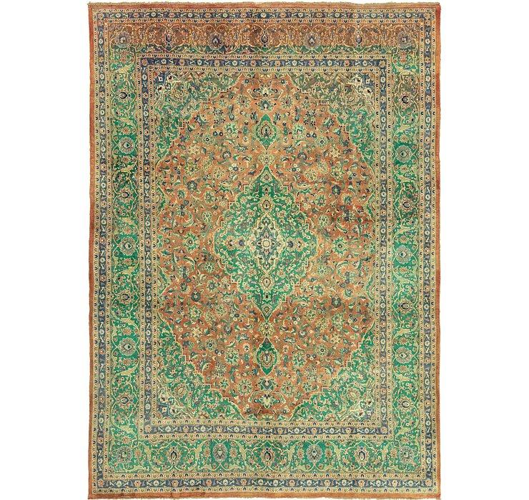 9' 5 x 13' 4 Mashad Persian Rug