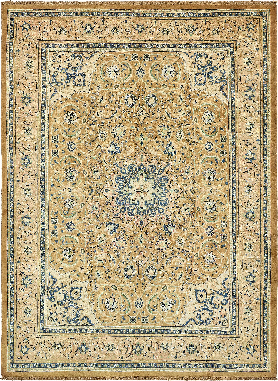 Brown 9 10 X 13 5 Farahan Persian Rug Rugs Com