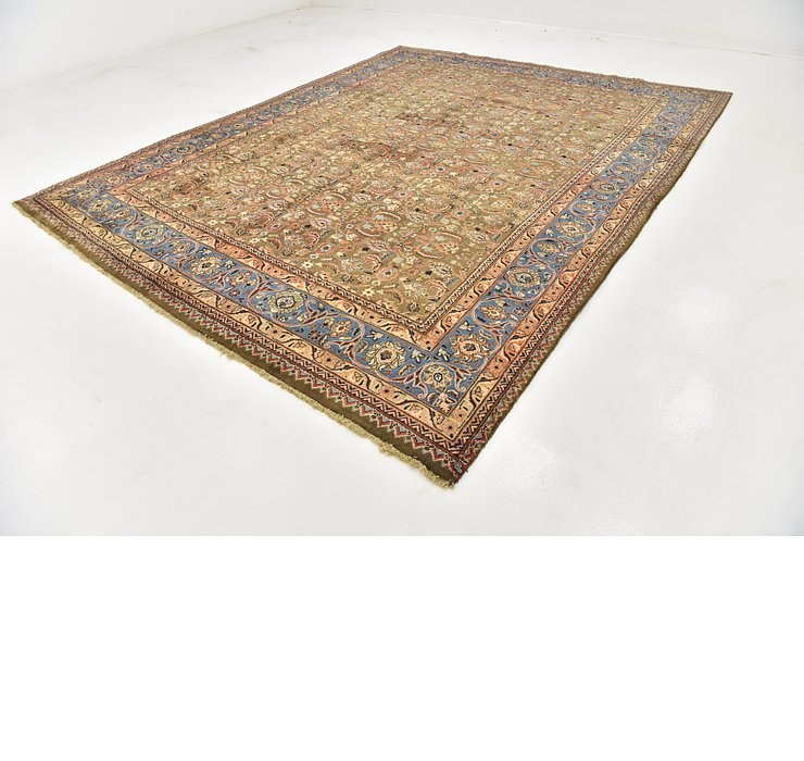 HandKnotted 9' 9 x 12' 5 Kashmar Persian Rug