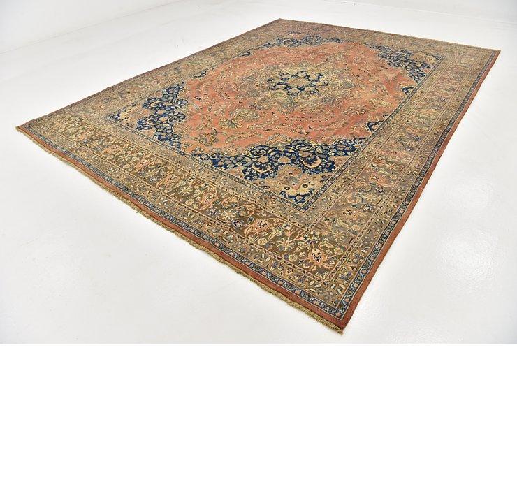 HandKnotted 9' 9 x 12' 9 Mashad Persian Rug