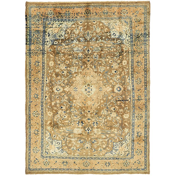 7' 1 x 10' Nanaj Persian Rug