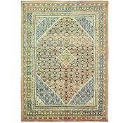 Link to 9' 3 x 12' 11 Farahan Persian Rug