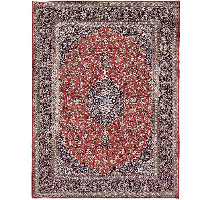 9' 10 x 13' 1 Kashan Persian Rug