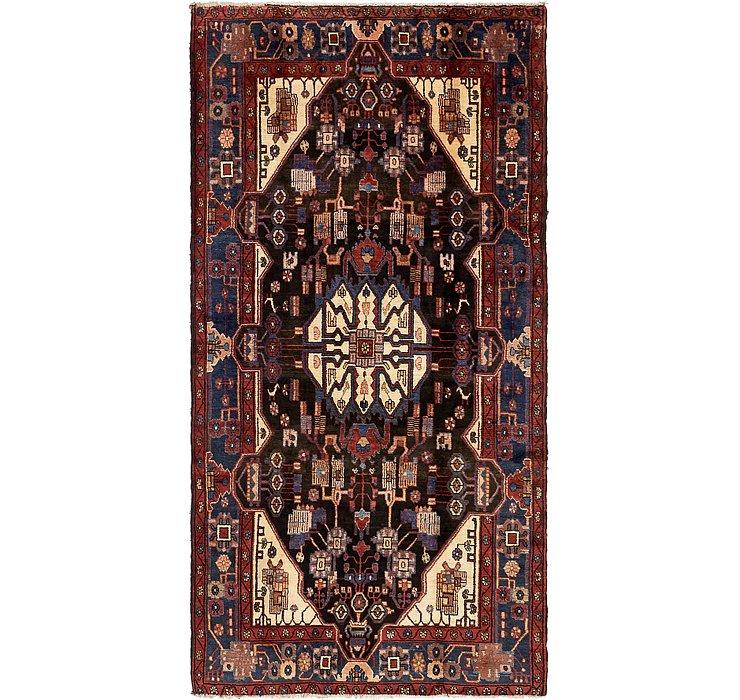 152cm x 295cm Nahavand Persian Rug