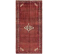 Link to 137cm x 300cm Hossainabad Persian Runner Rug