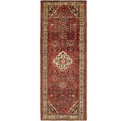 Link to 4' 4 x 11' Hossainabad Persian Runner Rug
