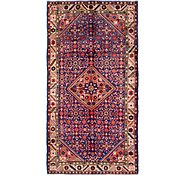 Link to 165cm x 318cm Hossainabad Persian Runner Rug