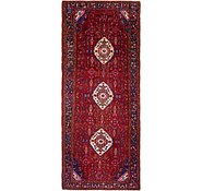 Link to 4' 6 x 11' Khamseh Persian Runner Rug