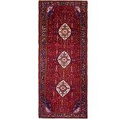 Link to 4' 6 x 11' Khamseh Persian Runner Rug