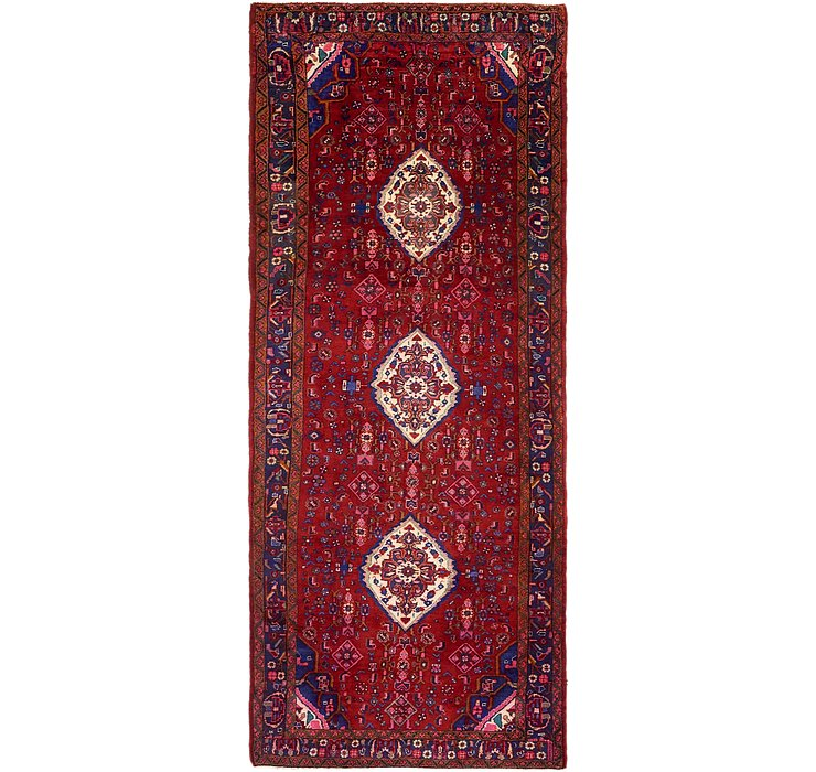 4' 6 x 11' Khamseh Persian Runner ...