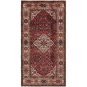 Link to 165cm x 325cm Hossainabad Persian Rug page
