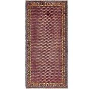 Link to 4' 9 x 10' Hamedan Persian Runner Rug