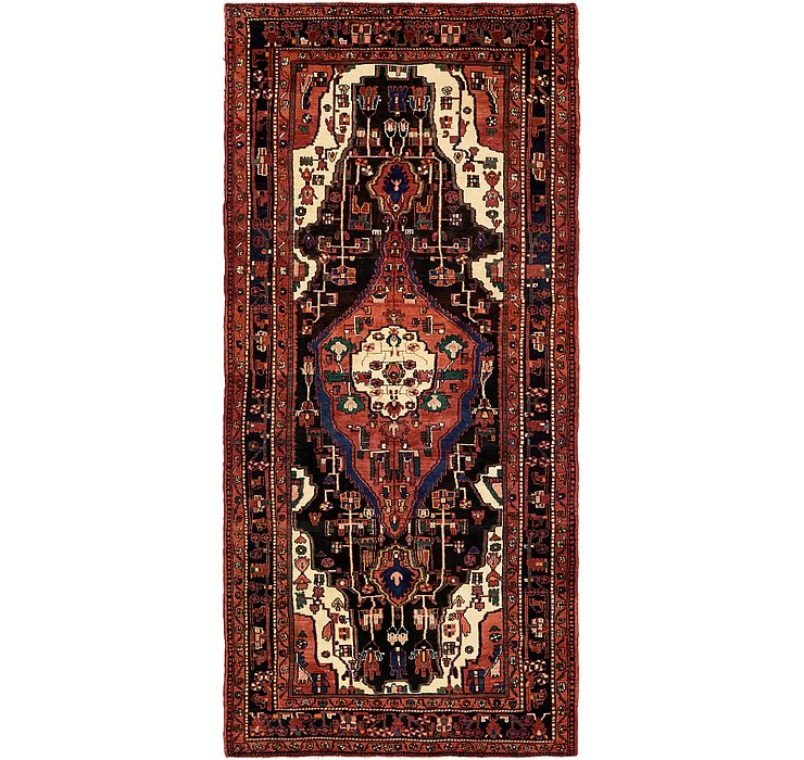 5' x 11' Hamedan Persian Runner ...