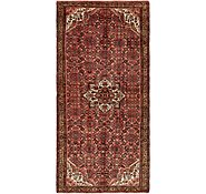 Link to 160cm x 335cm Hossainabad Persian Runner Rug