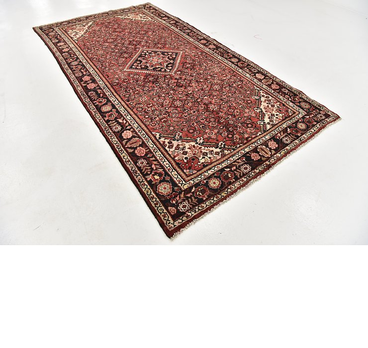 HandKnotted 5' 6 x 10' 4 Hossainabad Persian Rug
