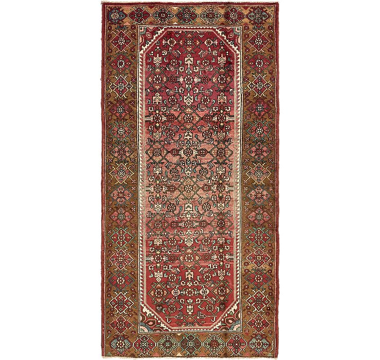 HandKnotted 4' 10 x 9' 9 Hossainabad Persian Rug