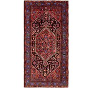 Link to 4' 10 x 9' 7 Zanjan Persian Runner Rug