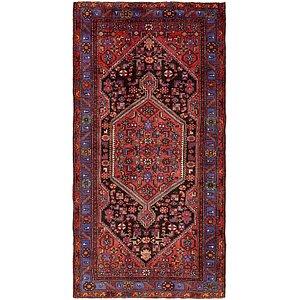 4' 10 x 9' 7 Zanjan Persian Runner Rug