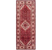 Link to 157cm x 405cm Hossainabad Persian Runner Rug