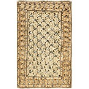 4' 7 x 7' 2 Kashan Persian Rug