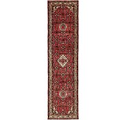 Link to 110cm x 405cm Hossainabad Persian Runner Rug