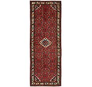 Link to 130cm x 385cm Hossainabad Persian Runner Rug