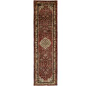 Link to 3' 10 x 13' 6 Hossainabad Persian Runner Rug