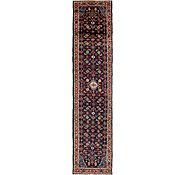 Link to 3' 10 x 16' 4 Hossainabad Persian Runner Rug