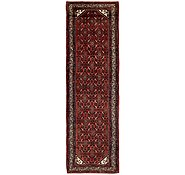 Link to 110cm x 385cm Hossainabad Persian Runner Rug