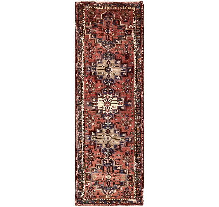 3' 8 x 12' 1 Hamedan Persian Runner ...
