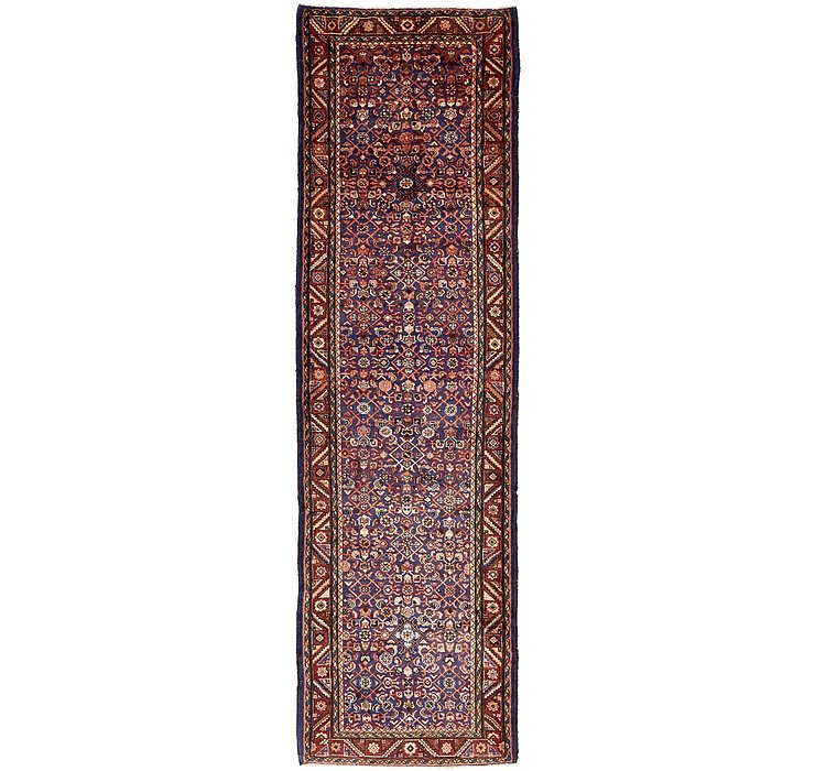 122cm x 422cm Hossainabad Persian Run...