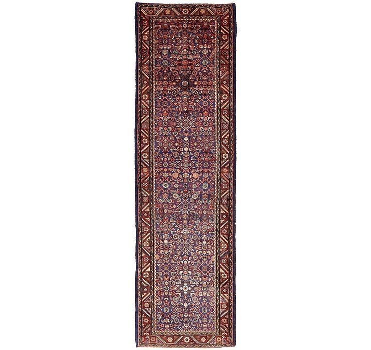4' x 13' 10 Hossainabad Persian Run...