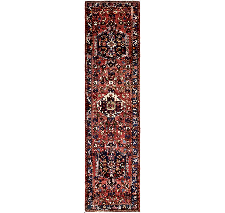 3' 6 x 13' 2 Hamedan Persian Runner ...
