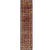 Link to 3' 10 x 15' 8 Hossainabad Persian Runner Rug