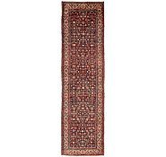 Link to 3' 4 x 12' Hossainabad Persian Runner Rug