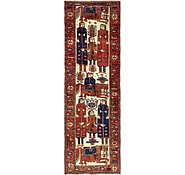 Link to 4' 3 x 12' 5 Shiraz Persian Runner Rug