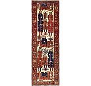 Link to 4' 3 x 12' 5 Shiraz Persian Runner Rug