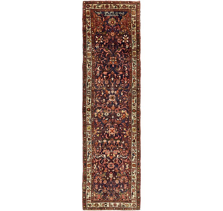 3' 4 x 12' 1 Hamedan Persian Runner ...