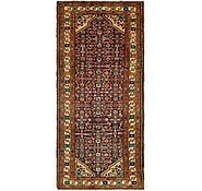 Link to 4' 4 x 10' Hossainabad Persian Runner Rug