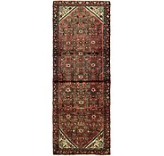 Link to 102cm x 282cm Hossainabad Persian Runner Rug