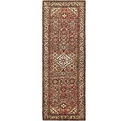 Link to 3' 5 x 10' Hossainabad Persian Runner Rug