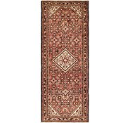 Link to 110cm x 305cm Hossainabad Persian Runner Rug