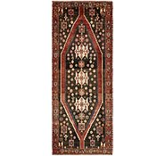 Link to 4' 6 x 11' 1 Mazlaghan Persian Runner Rug