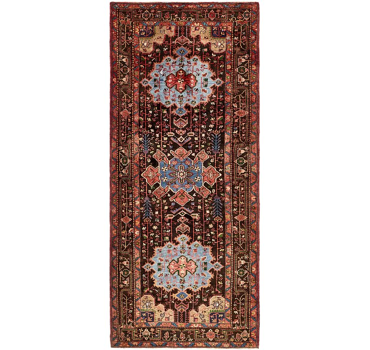 4' 2 x 10' 2 Khamseh Persian Runner ...