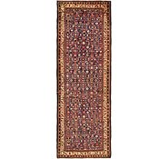 Link to 3' 8 x 11' Hossainabad Persian Runner Rug
