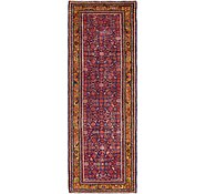 Link to 102cm x 300cm Hossainabad Persian Runner Rug