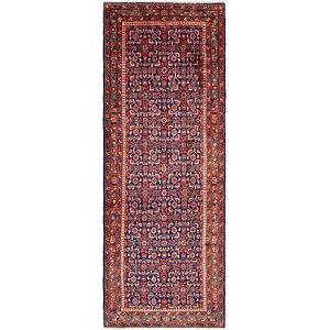 HandKnotted 3' 6 x 9' 7 Hossainabad Persian Run...